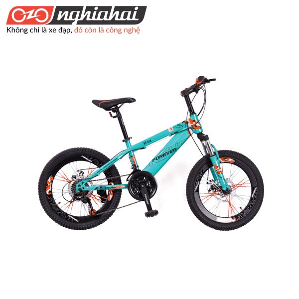 Xe đạp địa hình Vĩnh Cửu cho trẻ em YJ-2.0 xanh duong