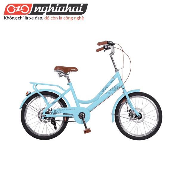 Xe đạp Vĩnh Cửu cho nữ 20inch MK Xanh