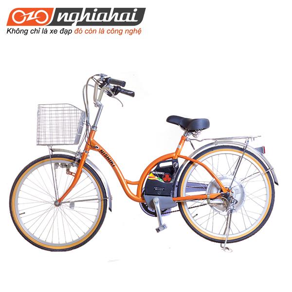 e đạp điện trợ lực NISHIKI 24INH