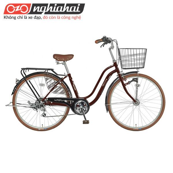 Xe-đạp-mini-Nhật-WAT-2673-nau