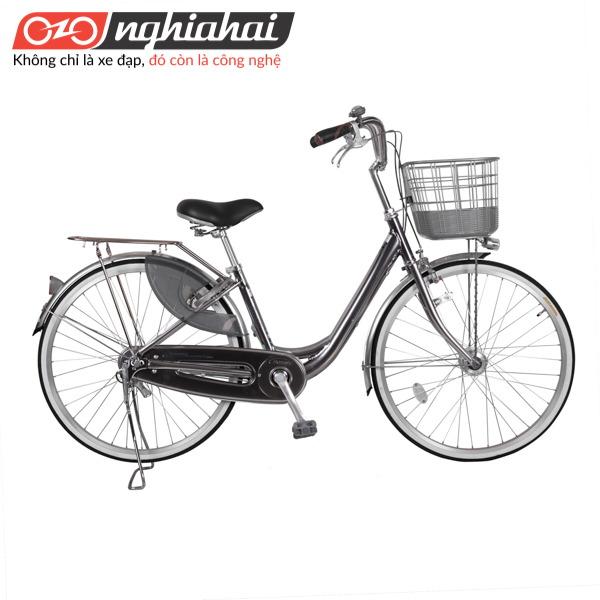 Xe đạp mini Nhật WEA 2611 xam chi