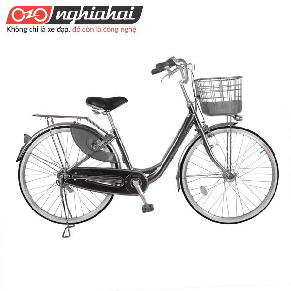 Xe đạp mini Nhật WEA 2633 xam chi