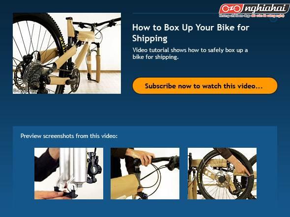 Hướng dẫn lắp ráp một chiếc xe đạp mới 2
