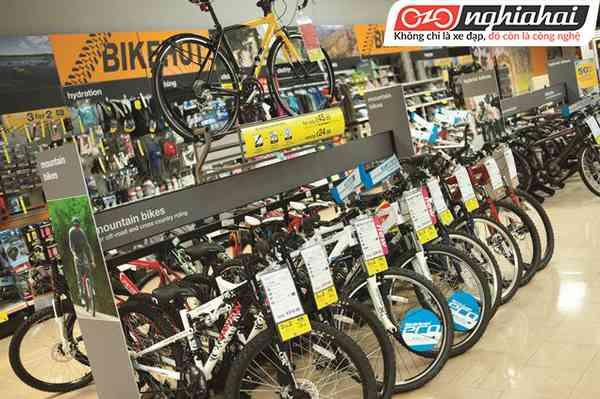 Cửa hàng xe đạp thể thao tại Hà Nội, Phụ tùng xe đạp thể thao nhập khẩu chính hãng 1