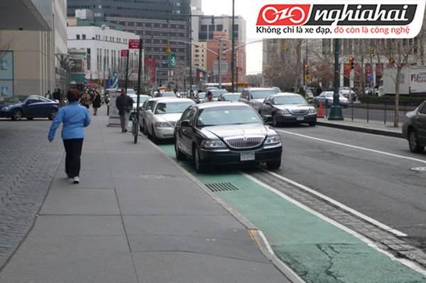 Lấn chiếm làn đường xe đạp ở Hoa kỳ 2