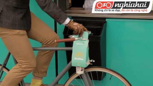 Túi hỗn hợp McBike dành cho người đi xe đạp. 3