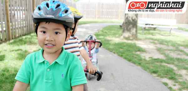 Nếu không có chiếc mũ bảo hiểm xe đạp 3