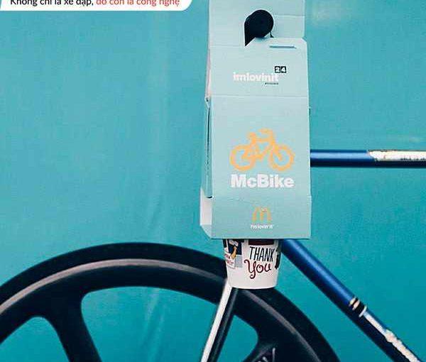 Túi hỗn hợp McBike dành cho người đi xe đạp 1