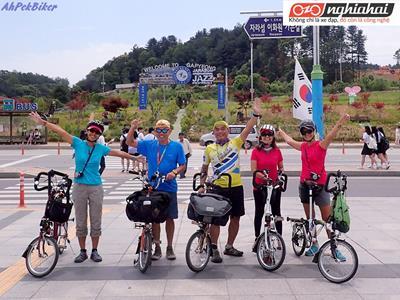Bán xe ô tô để sử dụng xe đạp di chuyển đến Seoul 1
