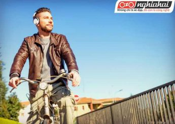 Bạn có nghe nhạc khi đi xe đạp 1