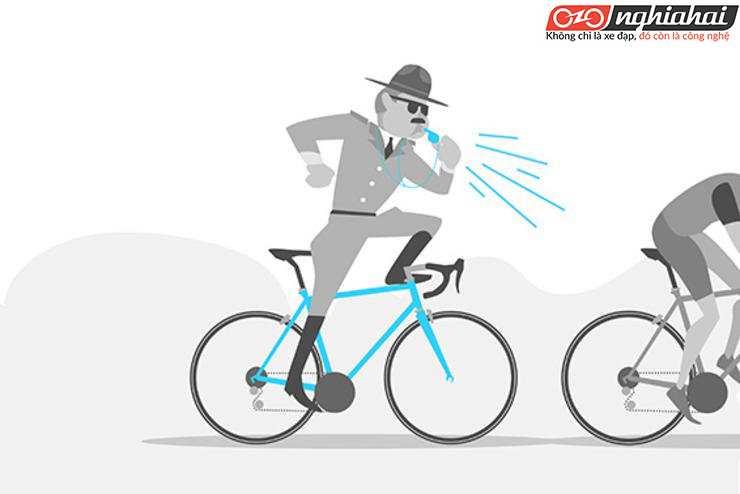 Các kiểu người đạp xe đạp khó chịu 1