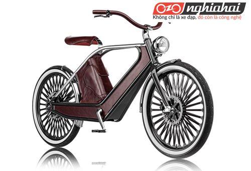 Chiếc xe đạp điện kiểu cách hoài cổ này cung cấp cho bạn ánh nhìn xưa cũ 1
