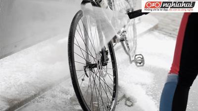 Hai sai lầm khi rửa xe đạp 1