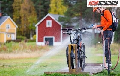 Hai sai lầm khi rửa xe đạp 2
