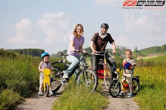 Bạn nên đạp xe cùng con ở những đâu 2