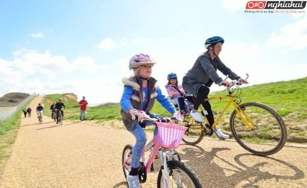 Bạn nên đạp xe cùng con ở những đâu 3