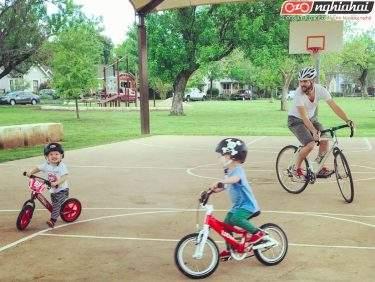 Bạn nên đạp xe cùng con ở những đâu 4