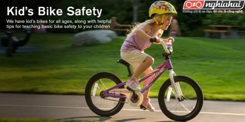 Cách đi xe đạp an toàn cho trẻ em 1