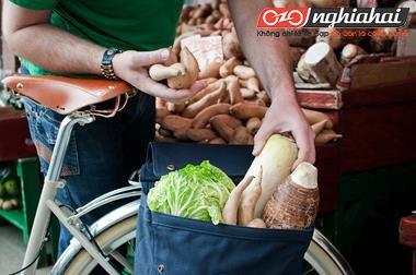 Làm sao để có thể đi mua sắm bằng xe đạp 2