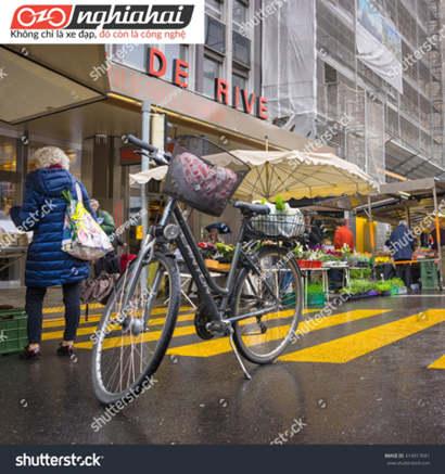 Làm sao để có thể đi mua sắm bằng xe đạp 3