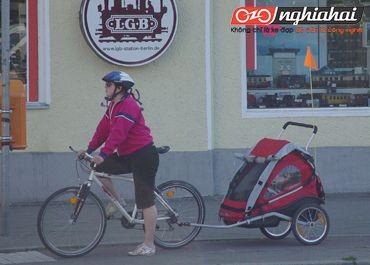 Lời khuyên cho việc sử dụng rơ moóc và thùng kéo cho xe đạp trên đường phố 1