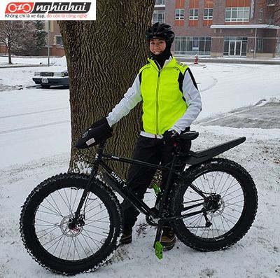 Mẹo và động lực giúp bạn đạp xe vào mùa đông 2