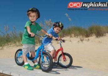 Nếu trẻ đi xe không đúng độ tuổi, có thể bị bệnh xe đạp trẻ em! 2