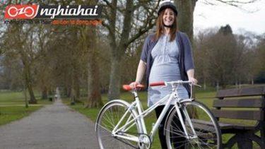 Những mẹo để đi xe đạp trong thời kì mang thai 3