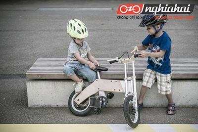 Xe đạp Miilo bike cùng trẻ trưởng thành 1