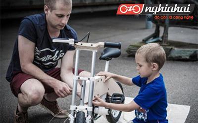Xe đạp Miilo bike cùng trẻ trưởng thành 2
