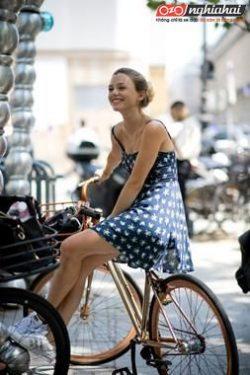 Xe đạp phù hợp cho phụ nữ 1