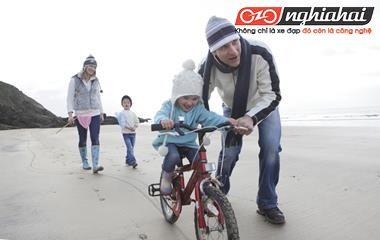 Mùa đông trẻ em có thể đi xe đạp không 2