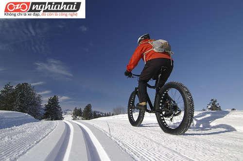 Mẹo đạp xe khi trời có tuyết 2