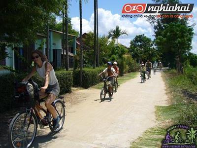 Những phút giây trải nghiệm ở Việt Nam bằng xe đạp 3