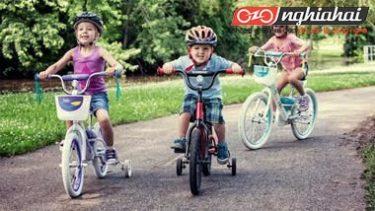 Đạp xe đạp an toàn cho trẻ em Những suy nghĩ hoang đường và sự thật 1