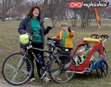 Đạp xe cùng con vào mùa đông 1