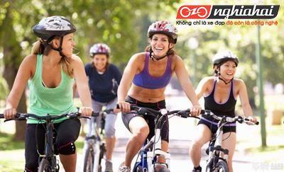 Chia sẻ kinh nghiệm giảm cân thành công nhờ đi xe đạp. 1