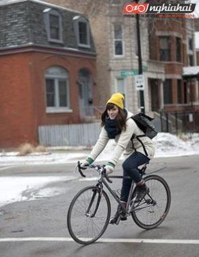 10 điểm ghi chú khi đi xe đạp mùa đông 2