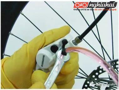 Phương pháp thay dầu cho đĩa dầu của xe đạp địa hình 1