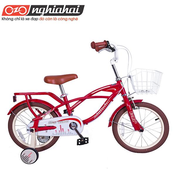 Xe đạp trẻ em Nhật Blance (Straight Student) 16″ 10