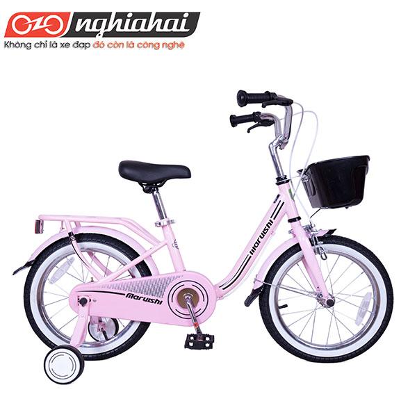 """Xe đạp trẻ em Nhật Casper 16""""hong"""