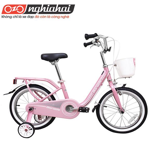 Xe đạp trẻ em Nhật Casper 16''hong1