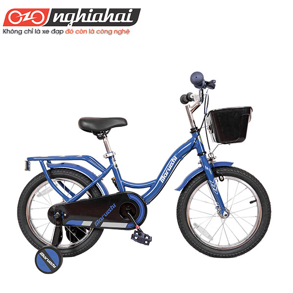 Xe đạp trẻ em Nhật Dually (Astronaut) xanh