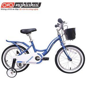 Xe đạp trẻ em Nhật Dually (Astronaut) xanh1