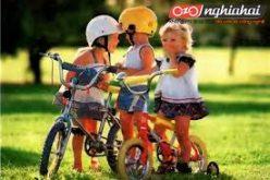 Chỉ dẫn với trẻ khi đi xe đạp 4