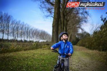 Làm thế nào kéo dài niềm yêu thích đối với xe đạp cho trẻ 3