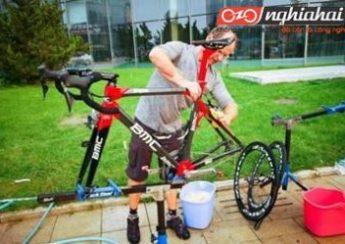 Phương pháp làm sạch xe đạp cho chuyến đạp xe cuối tuần 1