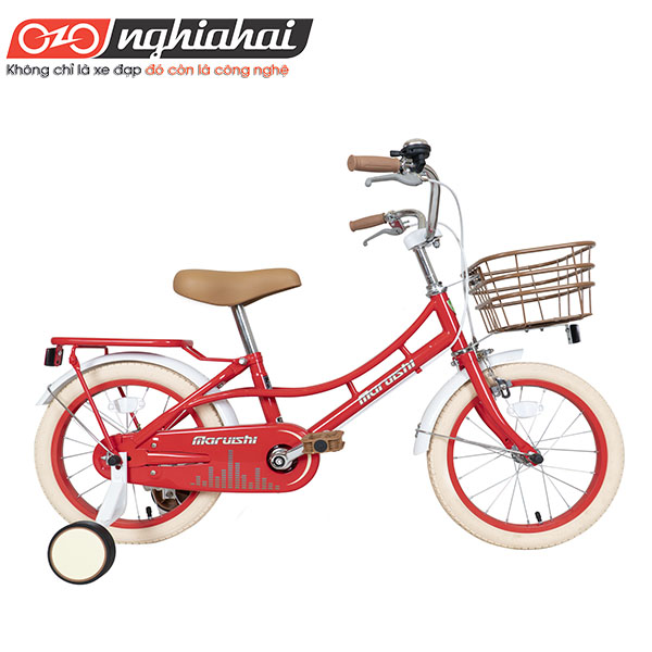 Xe đạp trẻ em Nhật Retro Bike 16'' 3