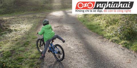 Tai nạn xe đạp trẻ em. Các tai nạn thường gặp khi cho trẻ tập xe 1
