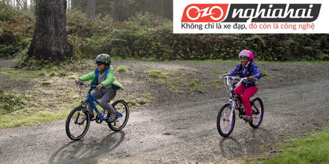 Tai nạn xe đạp trẻ em. Các tai nạn thường gặp khi cho trẻ tập xe 3
